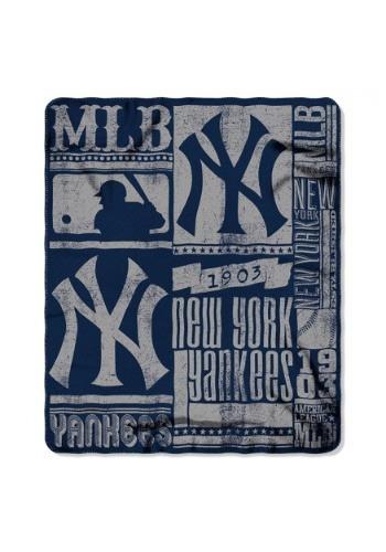 New York Yankees MLB Strength Fleece Throw