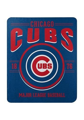 Chicago Cubs MLB Strength Fleece Throw new main