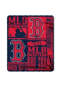 Boston Red Sox MLB Strength Fleece Throw