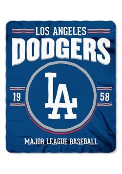 Los Angeles Dodgers MLB Strength Fleece Throw