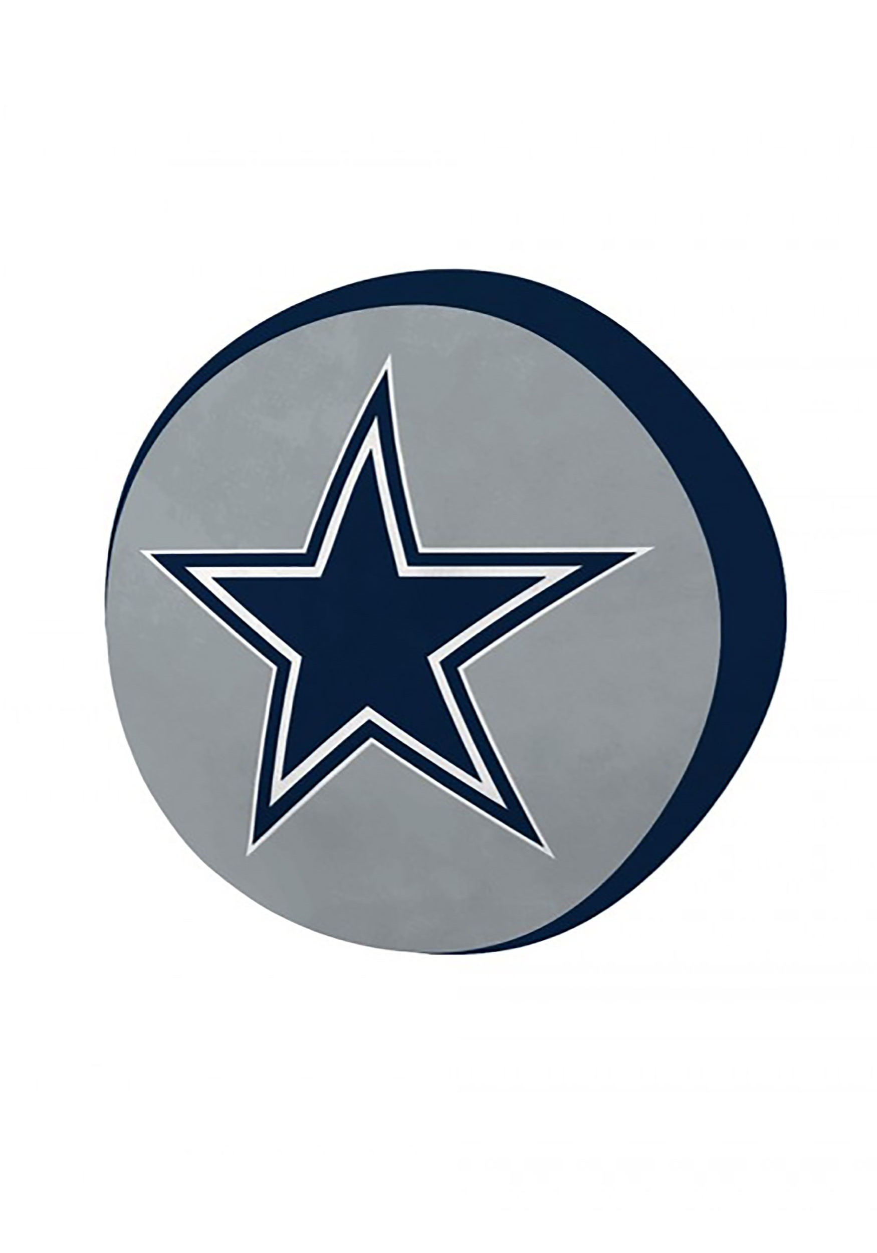 Dallas Cowboys Cloud Logo Pillow