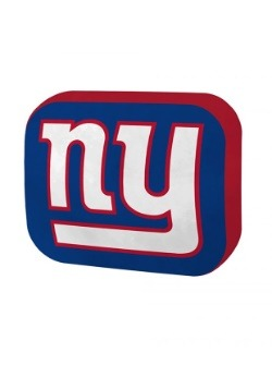 New York Giants Cloud Logo Pillow
