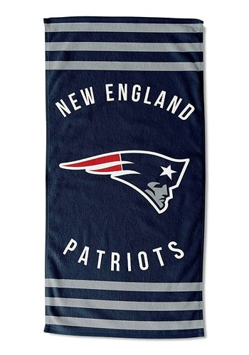 New England Patriots Beach Towel