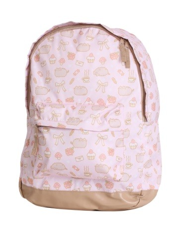 All Over Print Pusheen Pink Backpack update 1