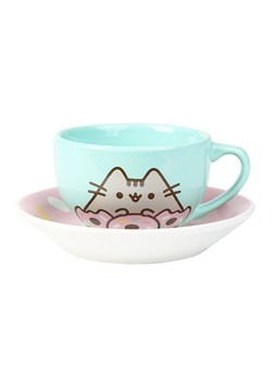 Pusheen Donut Teacup