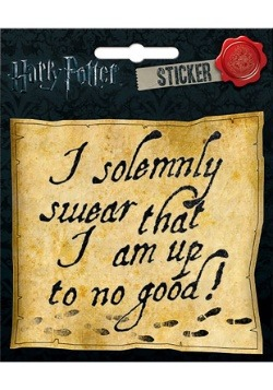 Harry Potter Map Sticker