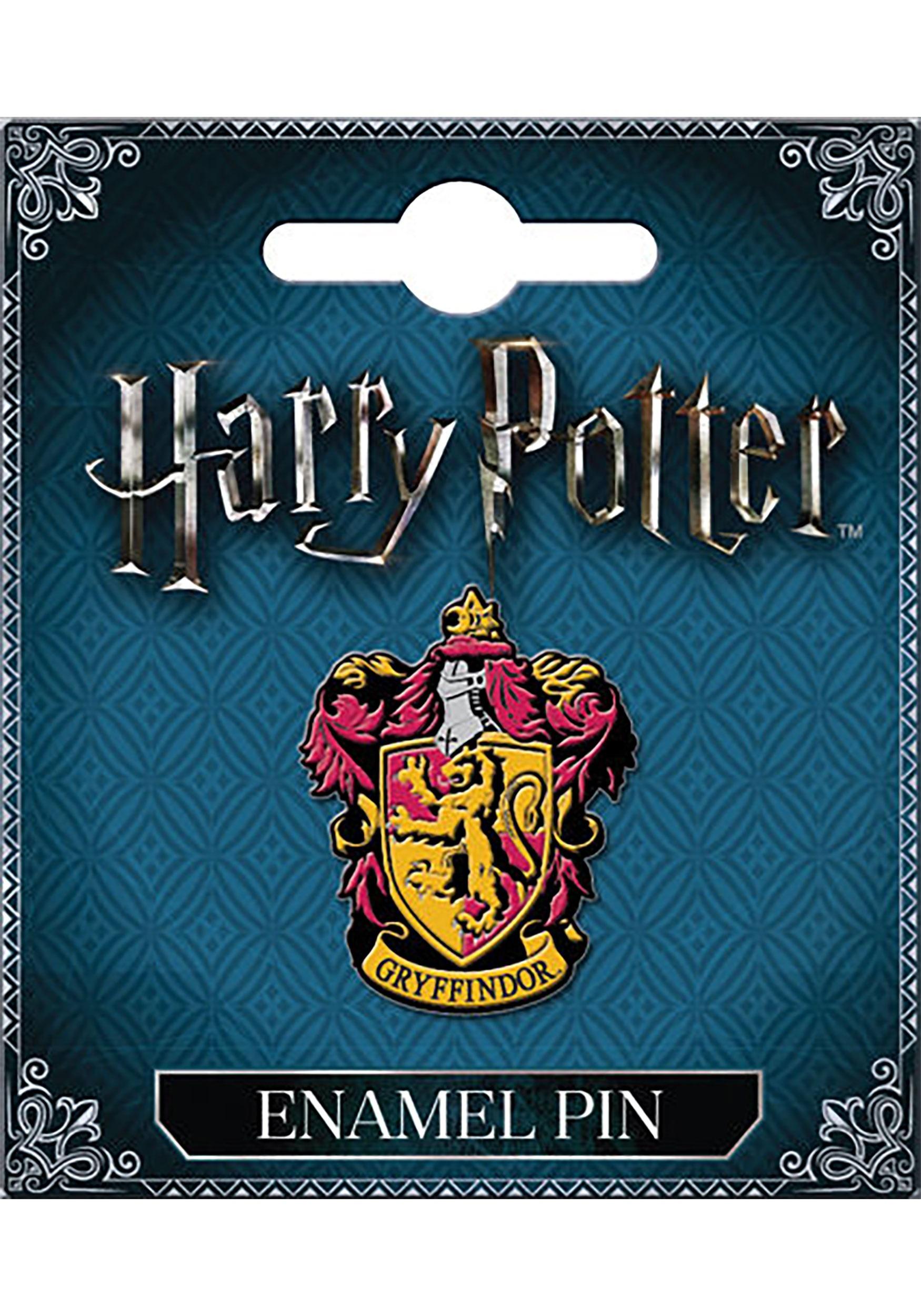 harry potter gryffindor house crest pin