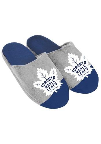 Toronto Maple Leafs Colorblock Slide Slippers