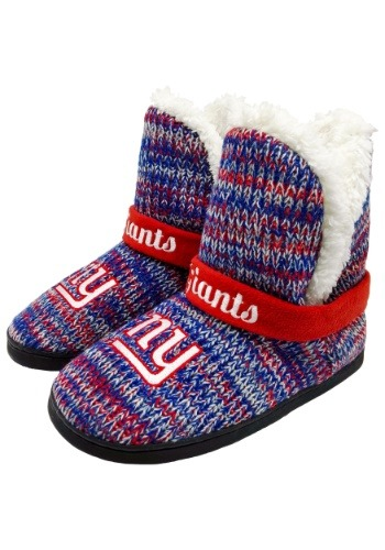 New York Giants Womens Wordmark Peak Boots