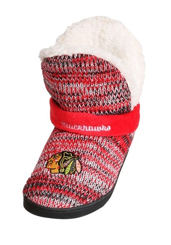 Chicago Blackhawks Wordmark Peak Mukluk Boots