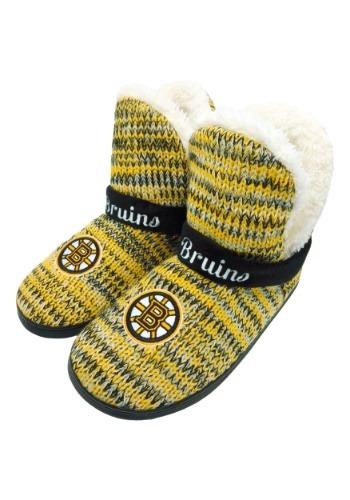 Wordmark Peak Boston Bruins Mukluk Boots