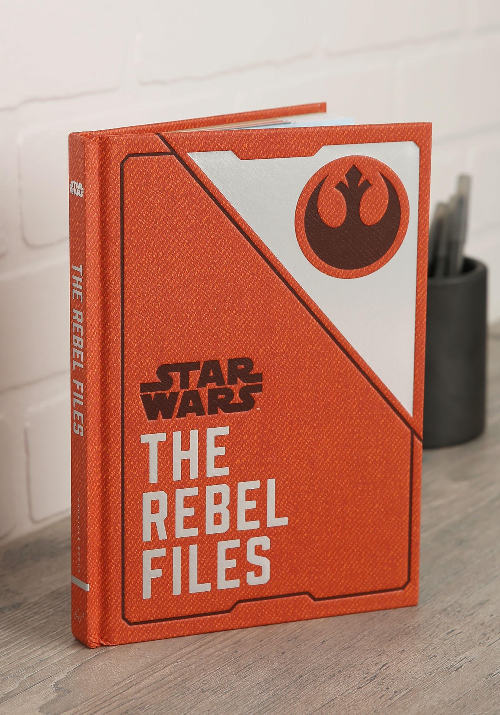 Star Wars: The Rebel Files Hardcover Book