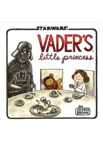 Vader's Little Princess Hardcover Book