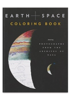 Earth and Space NASA Coloring Book