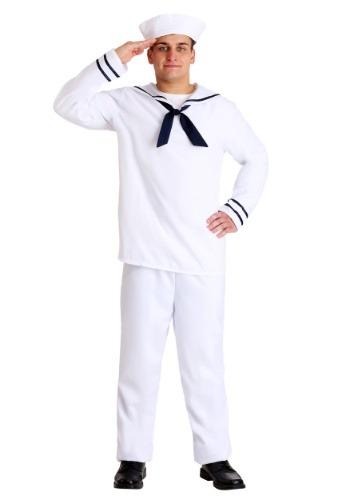 White Sailor Man Costume Main Update