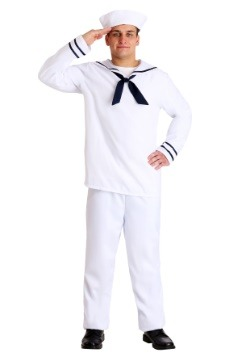 White Sailor Man Costume Main Update
