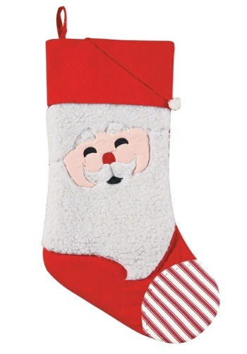 Santa Face Christmas Stocking