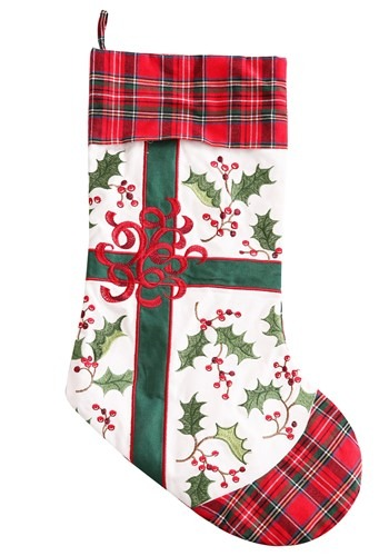 Christmas Holly Christmas Stocking Update Main