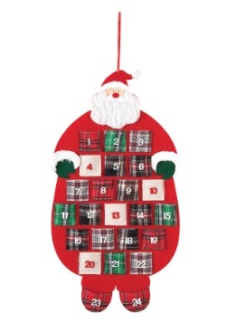 Santa Flannel Advent Calendar