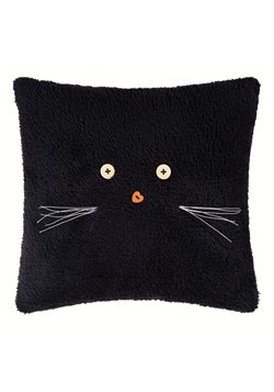 "Black Cat 12"" Pillow Update Main"