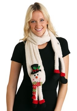 LED 3D Snowman Scarf Main Update
