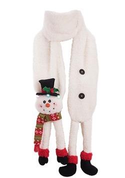 LED 3D Snowman Scarf Alt1