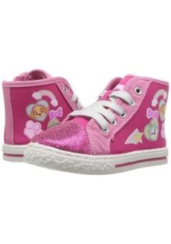 Paw Patrol Pink Girls High Top Sneakers