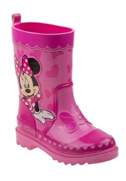 Minnie Mouse Pink Girl's Rain Boots