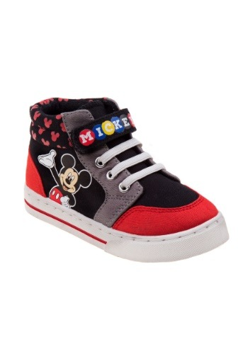 Mickey Mouse High Top Child Shoes