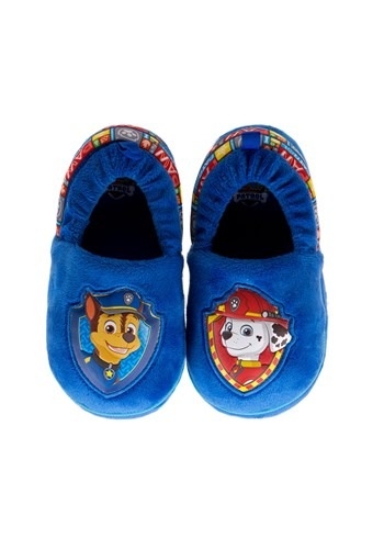 Paw Patrol Chase & Marshall Child Slippers