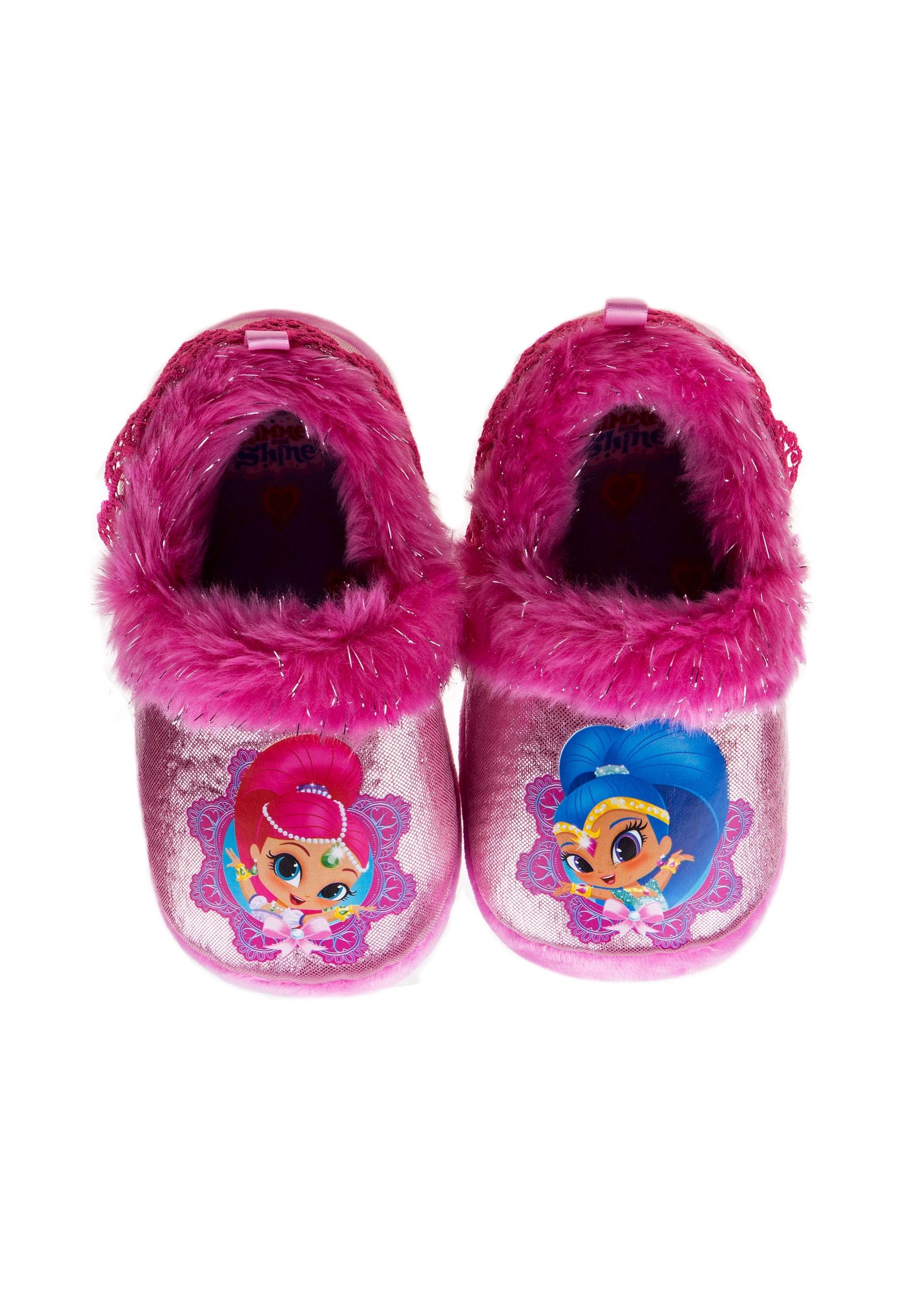 5b4d4056dfde Nickelodeon Shimmer   Shine Child Slippers