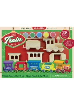 MasterPieces Works of Ahhh Express Train Paint Kit