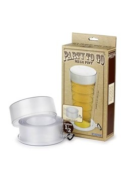Party to Go Mega Pint Glass