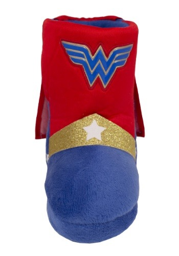 Wonder Woman Caped Child Boot Slippers Update1