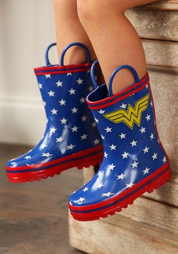 Wonder Woman Child Rain Boots Update