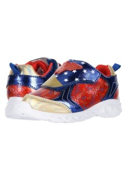 Wonder Woman Lighted Child Athletic Sneakers Update1