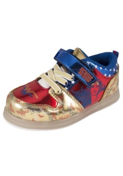 Wonder Woman Lighted Canvas Child Sneakers1