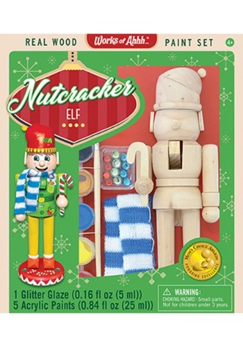 MasterPieces Works of Ahhh Nutcracker Elf Paint Kit