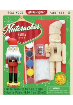 MasterPieces Works of Ahhh Nutcracker Santa Paint Set