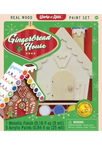 MasterPieces Works of Ahhh Gingerbread House Paint Set