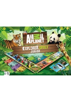 MasterPieces Animal Planet Explorer Opoly Jr. Boar