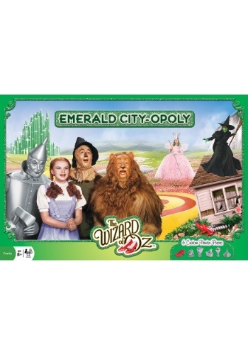 Emerald City Opoly MasterPieces Board Game