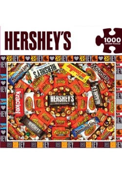 MasterPieces Hershey's Candy Swirl 1000 Piece Puzzle