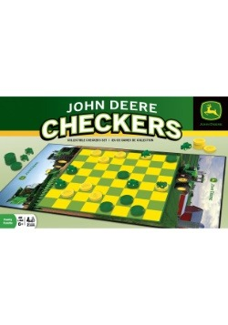 John Deere Checkers Board Game