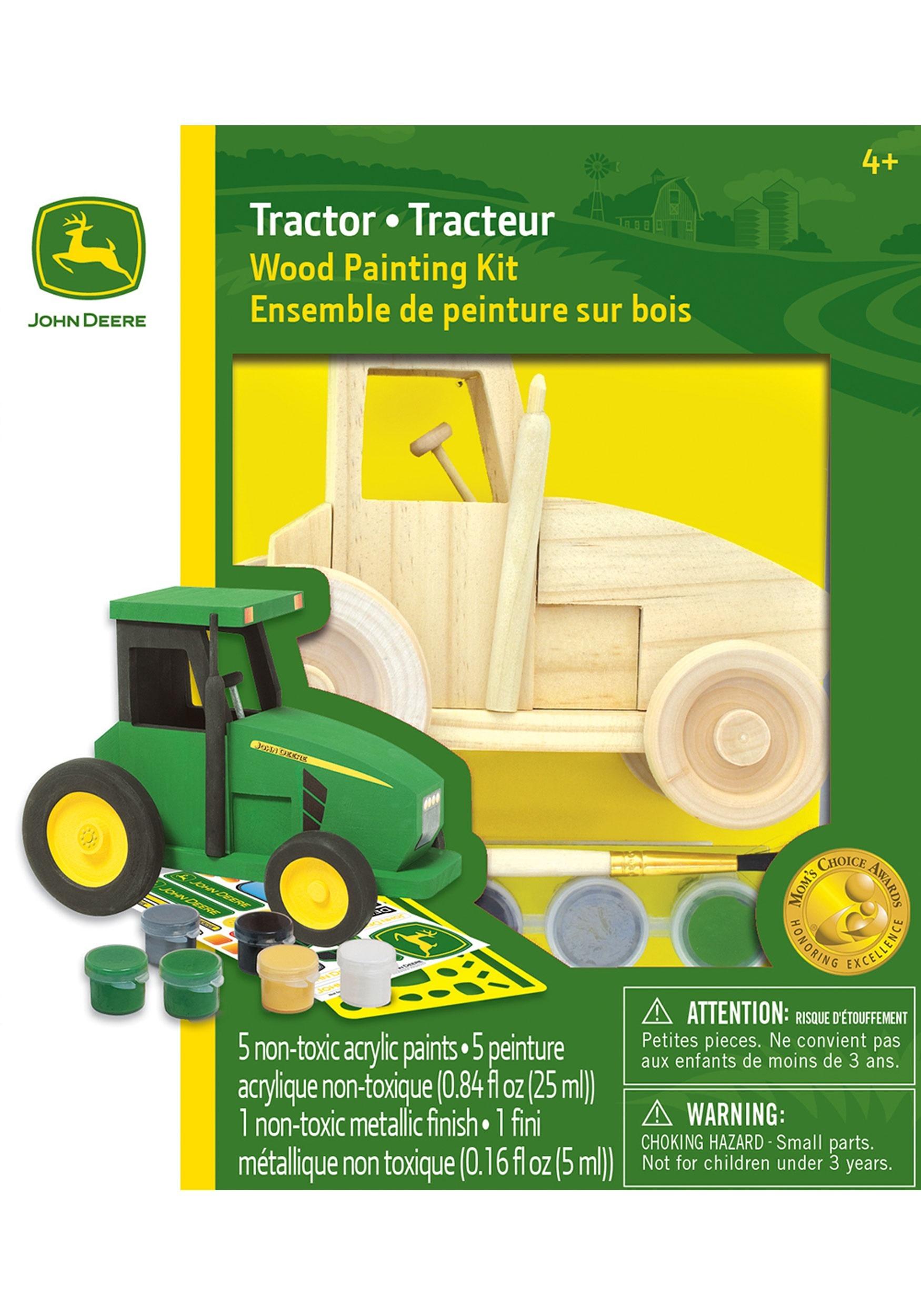 john deere tractor wood paint kit