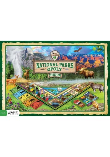 MasterPieces National Parks Opoly Jr Board Game