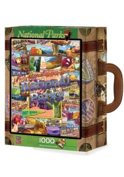 MasterPieces National Parks 1000 Piece Suitcase Box Puzzle