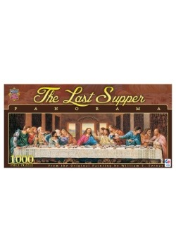 MasterPieces The Last Supper 1000 Piece Panoramic Puzzle