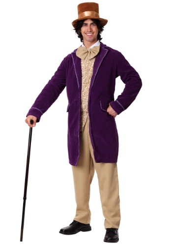 Deluxe Willy Wonka Mens Costume-update1