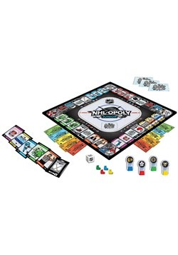 MasterPieces NHL-Opoly Jr Board Game Alt 1